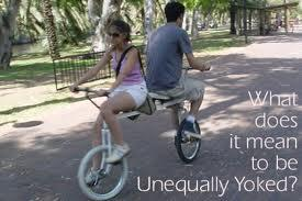 Image result for Unequally yoked