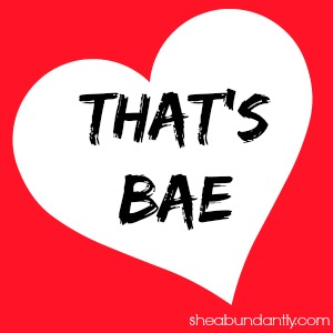 thats bae