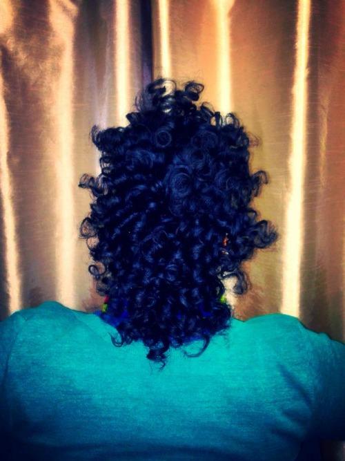 mohawk curl 2